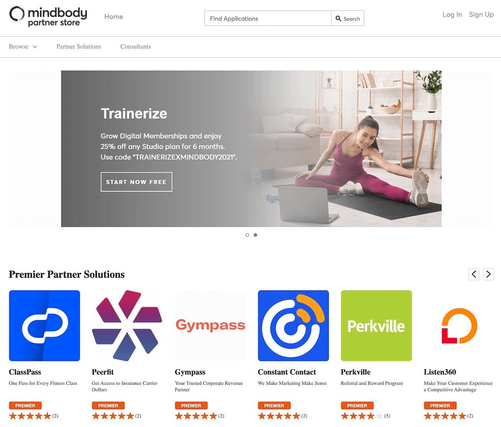 Mindbody Partner Store