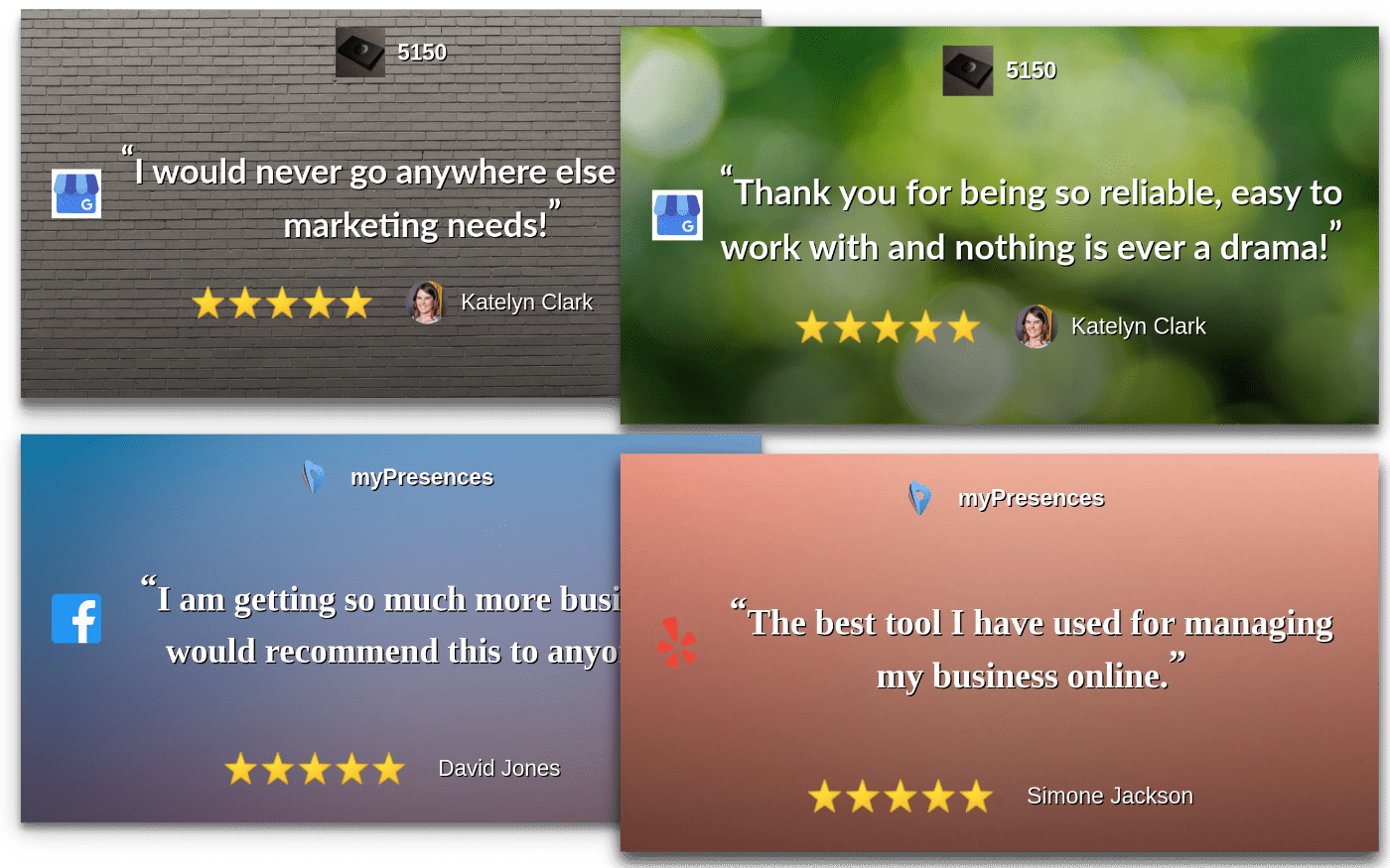 social review images